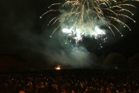 Fireworks in Bedale Park