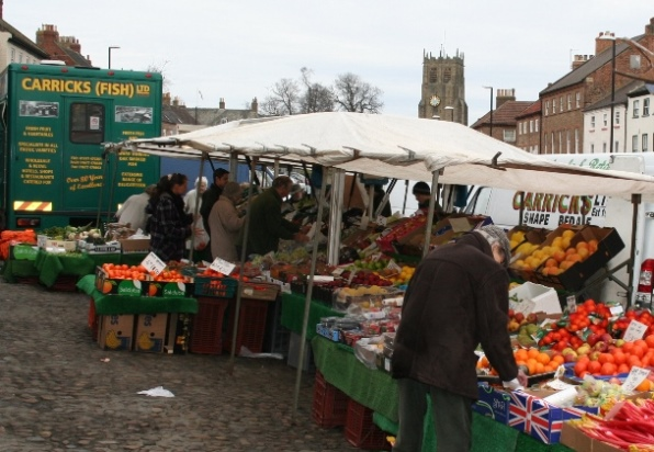 Bedale Tuesday Market