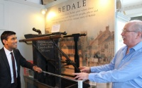 Bedale's MP Rishi Sunak at Bedale Museum