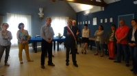 Twinning Association visiting Azay-sur-Cher and meeting the Mayor